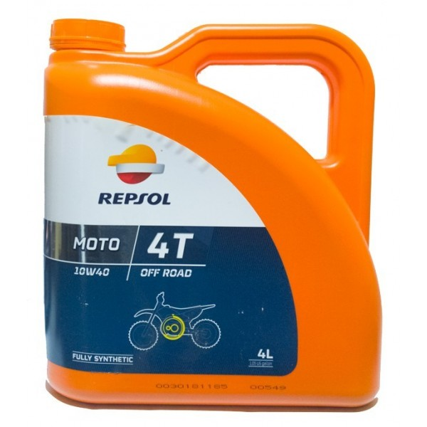 ACEITE REPSOL OFF ROAD 4T 10W4