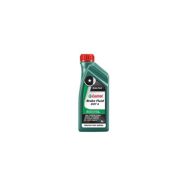 LIQUIDO FRENO CASTROL FLUID DOT 4