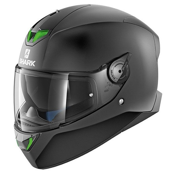 CASCO SHARK SKWAL 2 NEGRO MATE