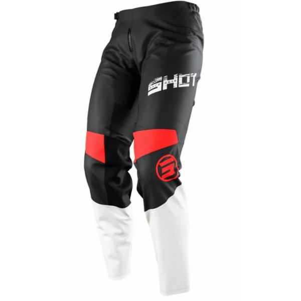 PANTALON SHOT MOTOCROSS SLAM JUNIOR ROJO