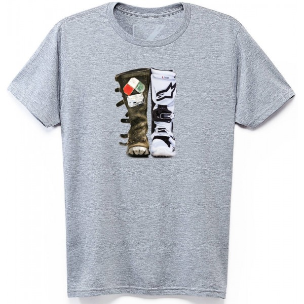CAMISETA ALPINESTARS CASUAL ROOTS GRIS
